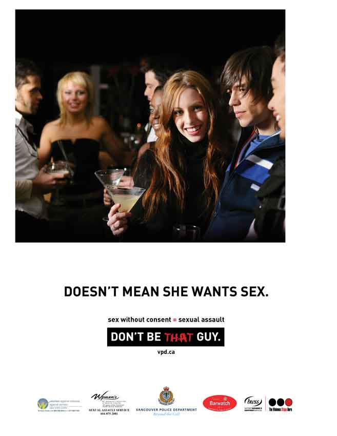 "VPD's ""Don't be that guy"" advertising campaign"