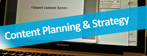 Content planning & strategy - Digital marketing in Vancouver