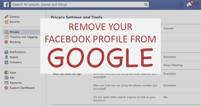 How to remove profile picture