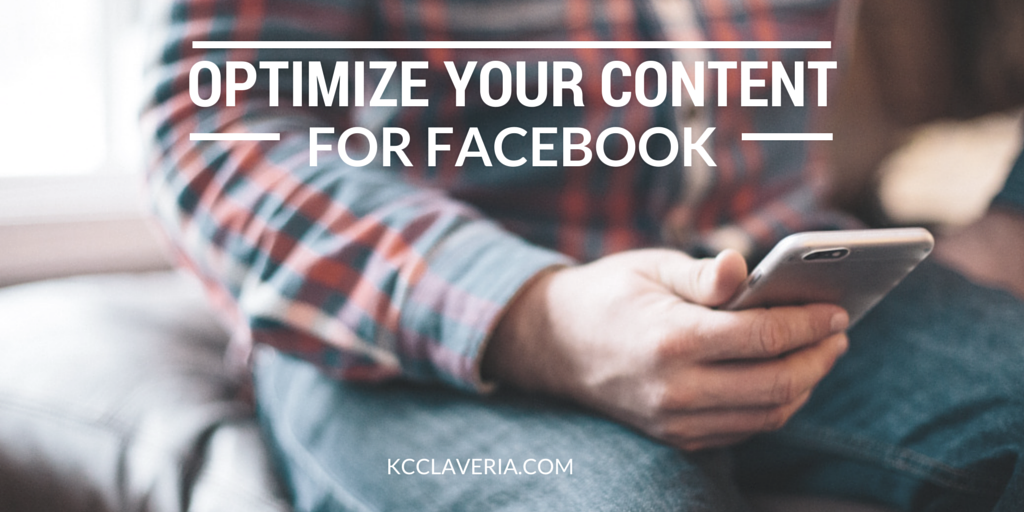 Optimize your content for Facebook