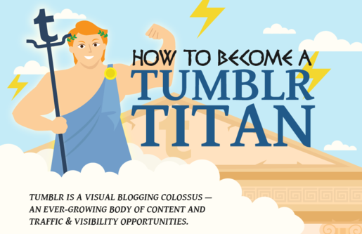 How to become a Tumblr Titan - infographic