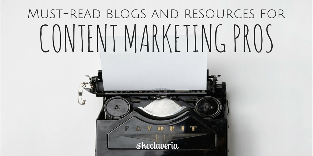Ultimate list of blogs and resources for content marketing professionals