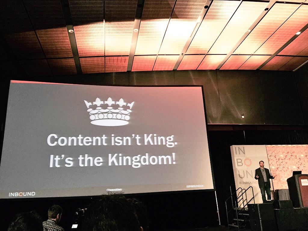 Content isn't king - Lee Odden