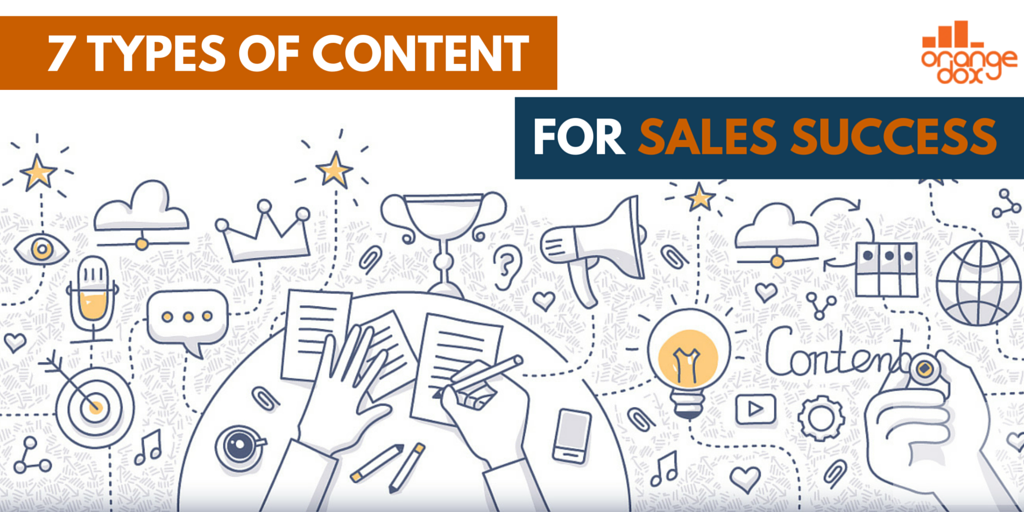 7 types of content your sales team needs to win