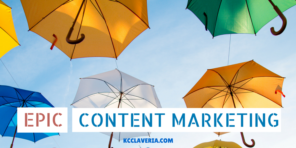 Epic content marketing: How to cut through the content clutter