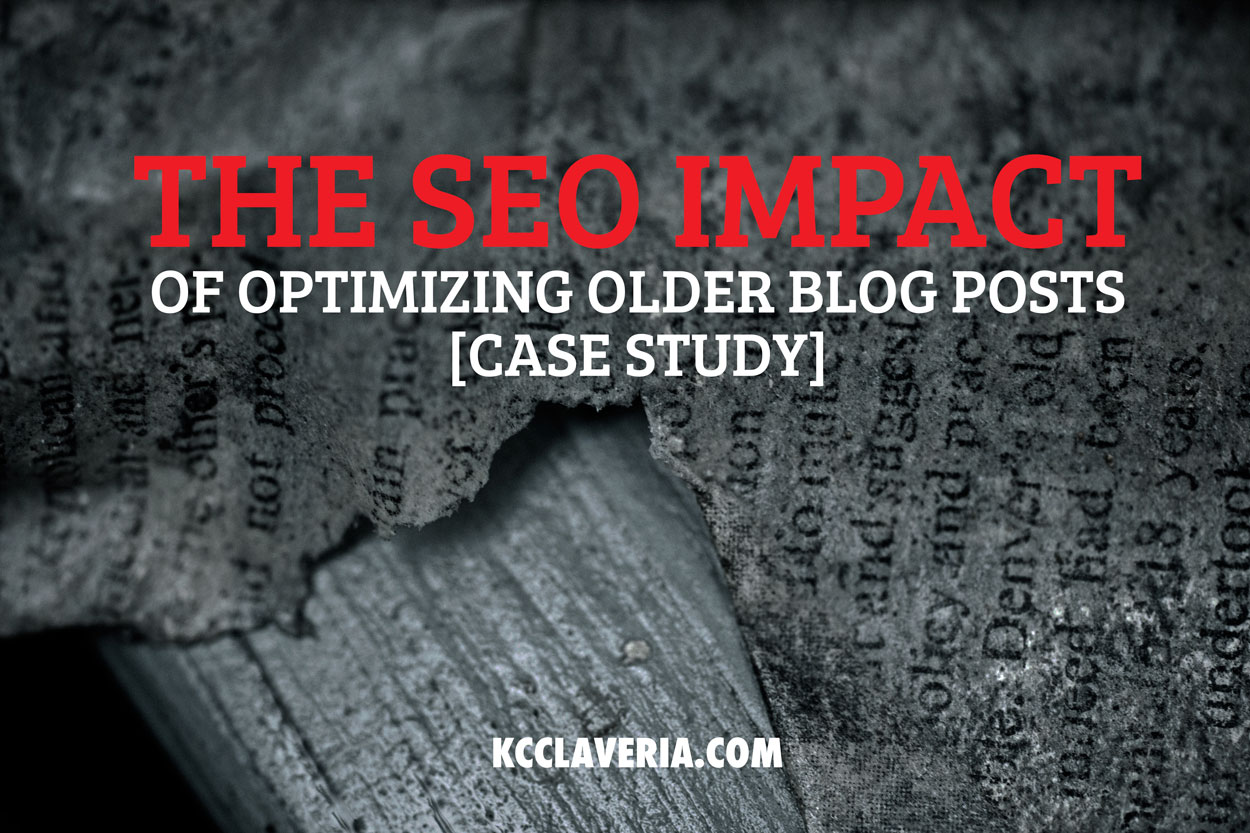 Republishing old blog posts: The surprising big impact on SEO [growth hacking case study]